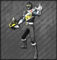 Kyoryu Black Armed On