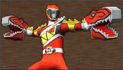 Kyoryuger Kyoryu Red Gaburu Armed On