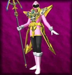 Gokai Pink Gold Mode
