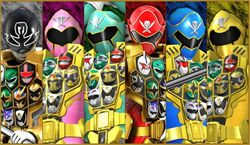 Gokaiger Gold Mode