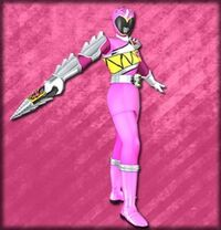 Kyoryu Pink Armed On