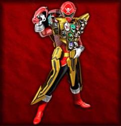 Gokai Red Gold Mode