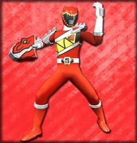 Kyoryu Red Armed On