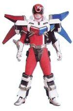 Red SPD Ranger Battlizer