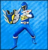 Kyoryu Blue Armed On