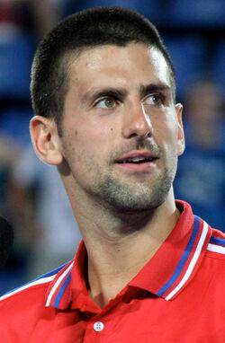 Novak Djokovic Hopman Cup 2011 (cropped)