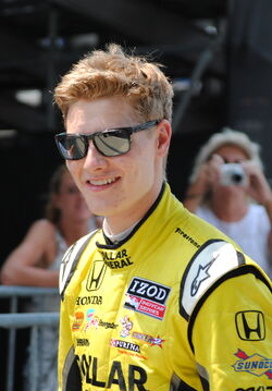Josef Newgarden at the 2012 Indy 500