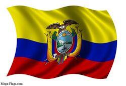 Flag Ecuadorian