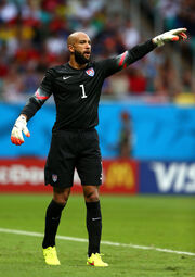 Tim Howard at the 2014 FIFA World Cup Brazil