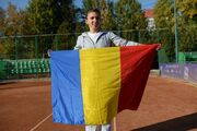 Halep Romanian Flag
