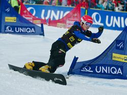 Zan Kosir FIS World Cup Parallel Slalom Jauerling 2012