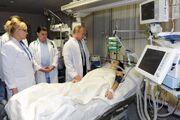 Maria Komissarova injured