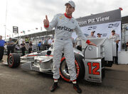 Will Power St Pete 2016 with Pole