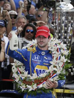 2016 Indy 500 Rossi