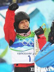 Li Nina at the 2010 Olympics