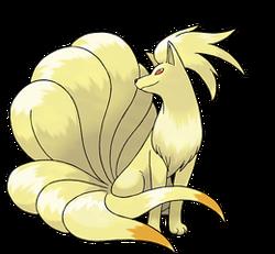 Pokémon Ninetales art
