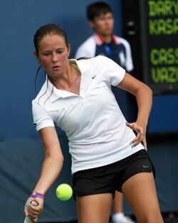 Darya Kasatkina at the 2013 US Open