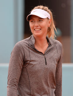 Maria Sharapova Mutua Madrid Open 2015