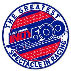 2017 Indy 500 Logo