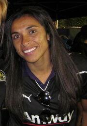 Marta at Union at Earthquakes 2010-09-15
