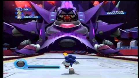 Sonic Colours - Nega-Wisp Armor Phase 1 (Extended)
