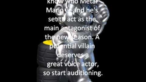 Metal Mario Audition