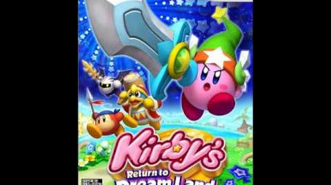 Kirby's Return to Dreamland Galacta Knight's Theme Extended