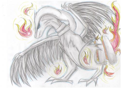 Pokemon Artwork (Reshriam)