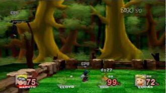 Super Smash Bros Brawl hacks- Bomberman Land stage