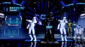Vader & Emperor Dance-off Star Wars Kinect