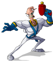 Earthworm jim by zeefster-d46dp3z