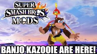 BANJO KAZOOIE - Super Smash bros for Wii U Hacks