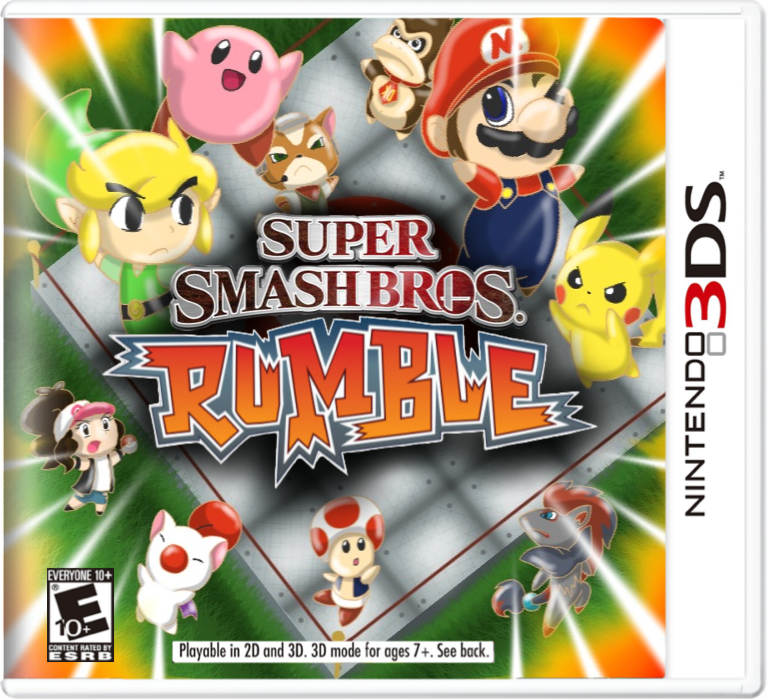 Super Smash Bros Rumble By Kajokeke D4pdz2d