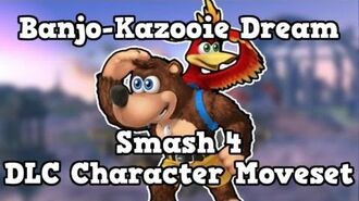 Banjo-Kazooie Smash 4 Dream DLC Character Moveset