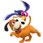 Duck Hunt SSB4 Render