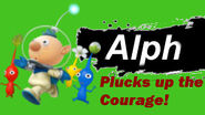Alph Plucks Up the Courage