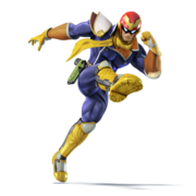 Ssbu captain falcon
