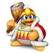 SSB4 - Dedede Artwork