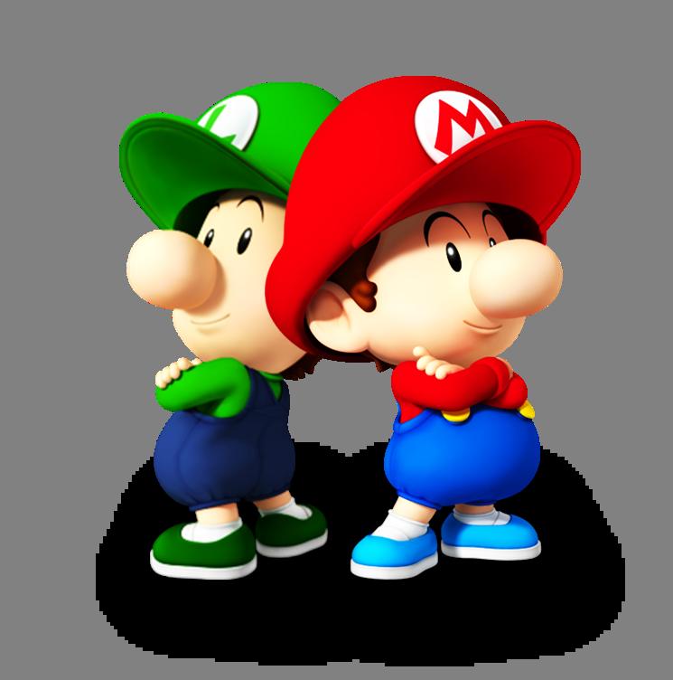 Super Smash Bros Calamity Baby Mario Luigi