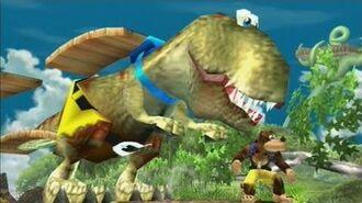 Banjo- Kazooie VS Daddy T-Rex - Super Smash Bros.