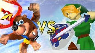 Super Smash Bros. Brawl- Banjo-Kazooie vs Nintendo