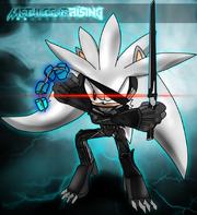 Silver the hedgehog raiden by shalweas-d5wufhi