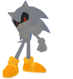 3d silver sonic