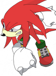 Knuckles the echidna by madxscientist