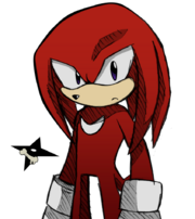 Knuckles the echidna by arthas inosuka-d4pinlt
