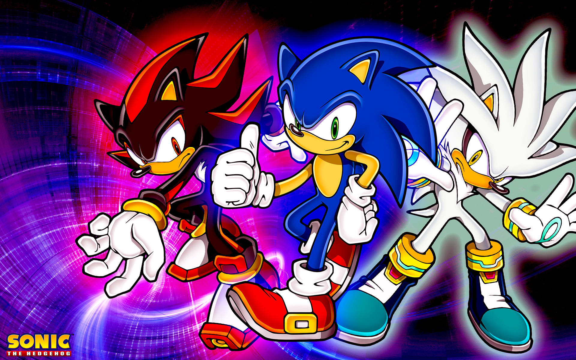 Sonic Shadow And Silver Wallpaper By Sonicthehedgehogbg D5qxvqn