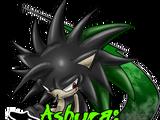 Ashura The Giltchhog Ashura The Hedgehog
