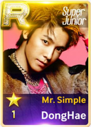 MR Simple Donghae