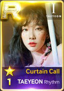 Taeyeon Curtain Call Rhythm