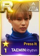 Taemin Press it R